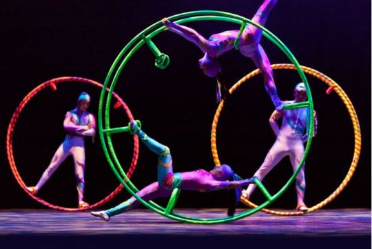 The Golden Dragon Acrobats Present Cirque