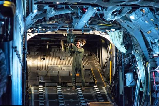 All in: Yokota launches the fleet