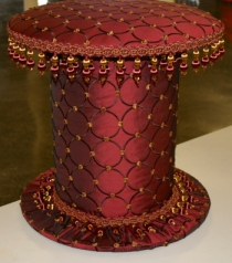 Stool In Comfort by Jackie Raboy Puello(r)