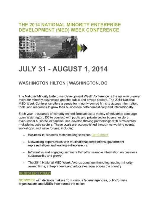 THE 2014 MED WEEK IN DC_001