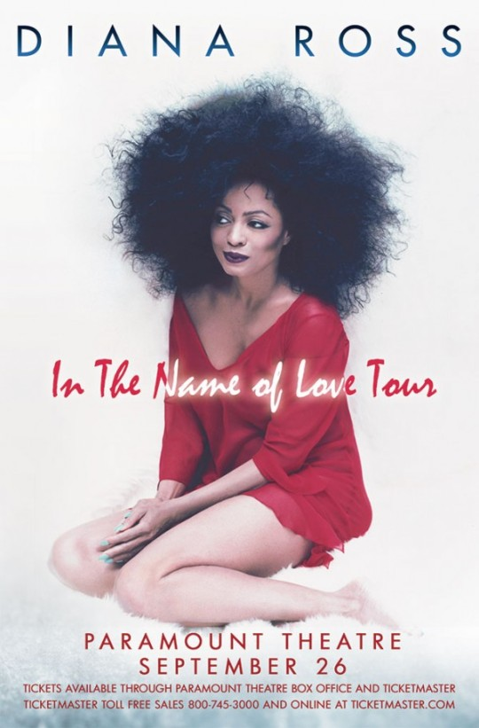 Diana Ross In the Name of Love Tour