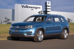 Volkswagen Mid Sized SUV.  Photo Courtesy:  Volkswagen Group of America, Inc.