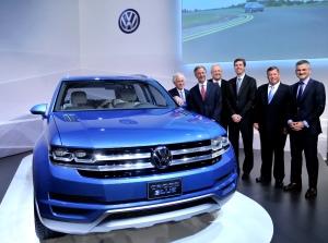 Volkswagen Midsize SUV.  Photo Courtesy: Volkswagen of America, Inc.