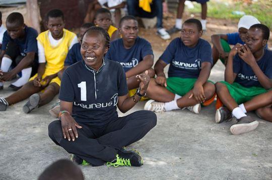 Laureus Ambassador Tegla Loroupe.  Photo Courtesy:  Laureus Sport for Good Foundation