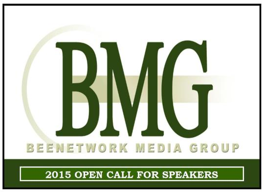 BMG OPEN CALL FOR 2015 LOGO