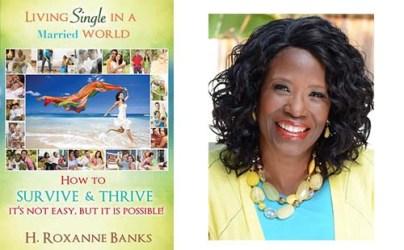 Bookcover and author, H. Roxanne Banks.  Photo Courtesy:  Blacknews.com