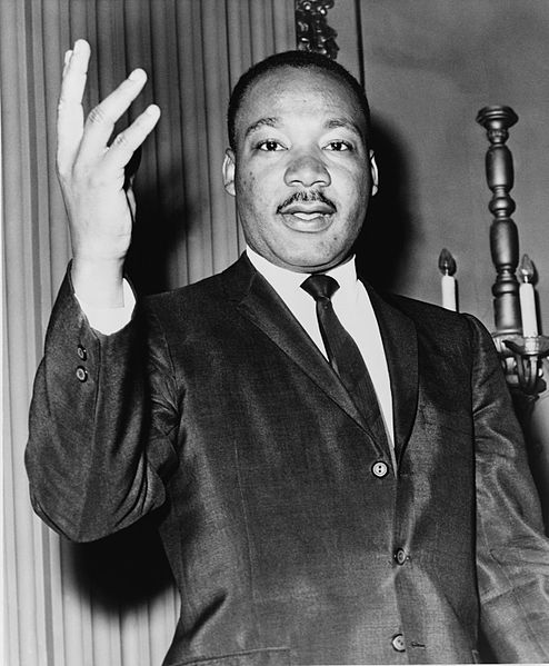 Martin Luther King, Jr.  Photo Courtesy:  Library of Congress. New York World-Telegram & Sun Collection / Dick DeMarsico, World Telegram staff photographer.