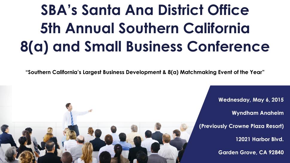 SBA Business matchmaking händelse 2013