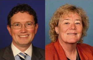 House of Representatives passed an amendment by Congressman Thomas Massie (R-KY) and Congresswoman Zoe Lofgren (D-CA) .  Photo Courtesy: Ofc. Rep. Thomas Massie