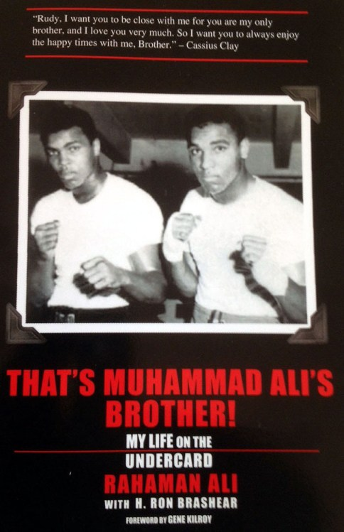 "Bookcover - ""That's Muhammad Ali's Brother! My Life on the Undercard."" Photo Courtesy: Beenetworknews.com"