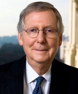 Sen. Leader Mitch McConnell. Photo Courtesy: United States Senate.