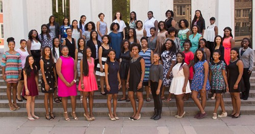 At the Well 2015 Academy Scholars.  Photo Courtesy:  Blacknews.com