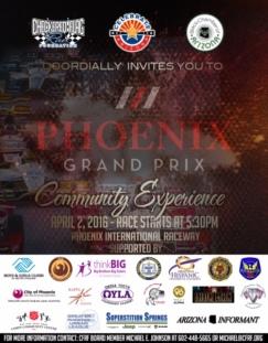 Phoenix Grand Prix. Photo Courtesy: Blacknews.com