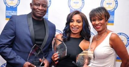 Winners Jackson Brown, Tammi Mac, Iona Morris. Photo Courtesy: Blacknews.com