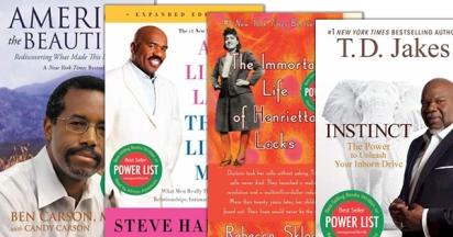 Top selling black non fiction books. Photo Courtesy: Blacknews.com